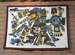 Oaxaca Mexico Zapotec Weaving Teotitlan (Ilhuicamina) Tags: zapotec rugs tapete weavings textiles teotitlandelvalle oaxaca mexico