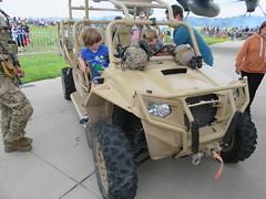 Polaris MRZR ATV US Army (m.yamnitz) Tags: spiritofstlouisairport stlouiscounty missouri