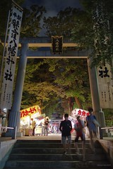 _PXK0536b (Concert Photography and more) Tags: 2019 september japan tokyo ogikubo tradition temple night nightshot lowlight pentax pentaxk1 pentaxprime liveactionherophotography smcpentaxfa31mmf18allimited lensmania matsuri