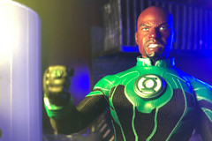 Green Lantern (misterperturbed) Tags: johnstewart greenlantern mezco mezcoone12collective one12collective dccomics greenlanterncorps lifx