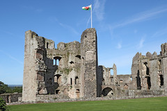 Raglan Castle (Roger Wasley) Tags: raglan castle ruins history historic south wales monmouthshire welsh