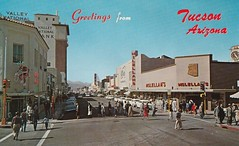 Vintage Postcard - Greetings from Tucson Arizona (hmdavid) Tags: vintage tucson arizona postcard 1960s congress street neon indian epco electricalproductscorp zeon