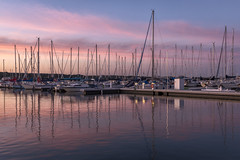 Blue hour (mpmark) Tags: marina sunset beautifullight bluehour reflections hamiltonharbour harbour hamilton 5dmkiv canon5dmkiv 247028lii canon2470ii sunsetlight boats sailboats