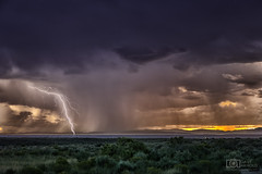 Downpour (Dave Arnold Photo) Tags: nm nmex newmex newmexico loslunas adelino tome socorro riogrande valley lightning lightening desert storm stormy thunderstorm thunder image pic us usa picture severe photo photograph photography photographer davearnold davearnoldphotocom sunset scenic cloud rural party summer badweather top wet canon 5d mkiii 24105mm huge big valenciacounty landscape nature monsoon outdoor weather rain rayos cloudy sky cloudburst raincolumn rainshaft season mountains southwest monsoons strike albuquerque abq