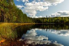 Autumn harmony. (A.Koponen) Tags: canonphotography canon canonphoto eosr ef1635mmf40l fall autumn lake sky clouds 4seasons suomi suomenluontokuvaajat finland