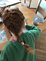 French braid debut attempt (artnoose) Tags: braid french ginger hair red
