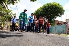 14.09.2019 Visita as obras de recapeamento asfáltico no bairro de Santa Etelvina