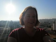 Selfie vanaf hotel