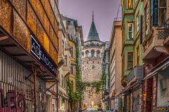ISTANBUL (01dgn) Tags: galatakulesi istanbul tower travel streetphotography colors turkey türkiye türkei europa europe avrupa city cityscape sonyilce7