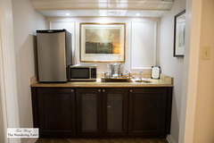 Separate wet bar in my suite (thewanderingeater) Tags: windsorcourthotel neworleans centralbusinessdistrict louisiana luxuryhotel luxuryboutiquehotel