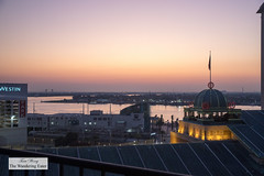 Beginning of sunrise (thewanderingeater) Tags: windsorcourthotel neworleans centralbusinessdistrict louisiana luxuryhotel luxuryboutiquehotel