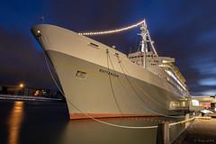 SS Rotterdam (R vd vos) Tags: rotterdam netherlands longexposure nightphotography nightshot night ss