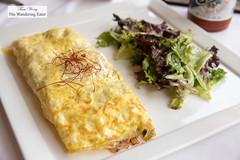 Seafood omlette (thewanderingeater) Tags: windsorcourthotel neworleans centralbusinessdistrict louisiana luxuryhotel luxuryboutiquehotel thegrillroom brunch jazzbrunch