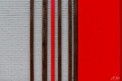 Calais_0219-3-2 (Mich.Ka) Tags: calais abstract abstrait architecture bâtimentindustriel façade hautsdefrance industrialdesign ligne line magasin mur nord red rouge shop town urbain urban ville wall