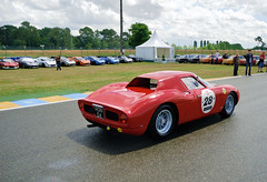1964 Ferrari 250 LM Berlinetta 6105 (pontfire) Tags: 1964 ferrari 250 lm berlinetta 6105 le mans classic 2012 lmc v12 colombo de old antique cars vieille ancienne voiture collection car auto autos automobili automobile automobiles voitures coche coches wagen pontfire bil αυτοκίνητο 車 автомобиль oldtimer vieux ancien anciennes automotive classics italienne italian sport prestige exception d gt gran tourisme turismo grand luxe luxury vintage pininfarina italie italia italy 自動車
