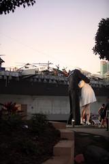 Embrace Peace, San Diego, California, USA (GO®D WEISFLO©K) Tags: sandiego california usa gordweisflock weisflock ocean westcoast waterfront embrace peace statue military