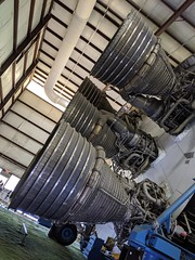 Saturn V engines 1, Johnson Space Center, Houston, Texas, USA (gruntzooki) Tags: wxr19 writingexcusescruise houston tx texas nasa johnsonspacecenter aerospace saturnv