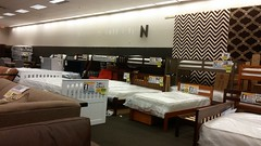 Grown up and moved out (except for the one kid who still lives in his parents' basement) (Retail Retell) Tags: overstock furniture mattress temporary retailer former booksamillion southaven towne center ms desoto county retail mall joe muggs café
