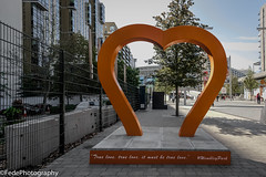 Wembley - Cuore Arancione (federicoloforte) Tags: wembley stadium park stadio vista walk rugby league panorama cuore arancione albero londra london uk england inghilterra