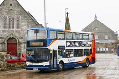 Stagecoach East Scotland 18092 SP04DBV (aptyldsley) Tags: stagecoach stagecoacheastscotland fifescottishomnibuses adl trident alexander alx400 dunfermline