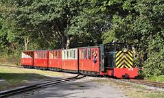 Jay At Clayton West. (Neil Harvey 156) Tags: railway jay claytonwest kirkleeslightrailway estatesrailwaysgala miniaturerailway dieselloco dieselhydraulic
