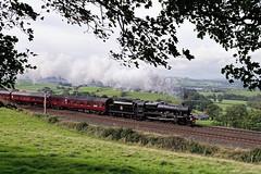45690: Jubilee Power (Gerald Nicholl) Tags: 45690 5690 leander jubilee stanier express steam engine train loco locomotive euston carlsle wcml wcrc steamdreams cumbria kendal excursion lms