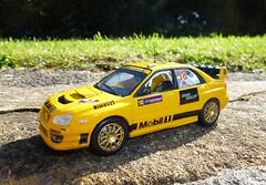1/43 Subaru Impreza WRC (thebigmacmoomin) Tags: 143 diecast modified custom code3 subaru impreza sti rally wrc mobil1 ireland guywilks segarally