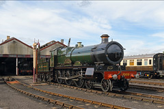 Saint (Treflyn) Tags: great western society steam loco locomotive newbuild gwr saint class 460 2999 lady legend ladyoflegend shed didcot railway centre