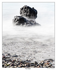 The Wash (rabranter) Tags: leebigstopper longexposure kintyre rocks gravel