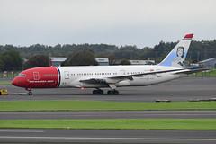 LN-LNA Boeing B787-9 EGPK 14-09-19 (MarkP51) Tags: lnlna boeing b7879 b787 dreamliner norwegianlonghaul du nlh prestwick airport pik egpk scotland airliner aircraft airplane plane image markp51 nikon d500 nikonafp70300fx