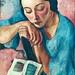 Matilde [Velez Caroço] Portrait - Sarah Affonso (1899-1983)