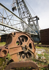 Oddball 03 sep 19 (Shaun the grime lover) Tags: autumn industrial machinery rusty dragline excavator opencast coal mining leeds yorkshire bucyruserie oddball swillington