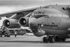 Ukrainian IL-76MD Candid 76683 (Mark_Aviation) Tags: ukrainian il76md candid 76683 ukraine air force il76 tanker transport russian soviet military large huge jet aircraft plane airplane big cargo af ukaf