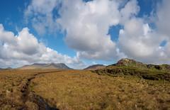 Connemara Bog & Sky (kckelleher11) Tags: 1240mm olympus blue bog connemara em1 galwayireland mzuiko omd skpc sky trip