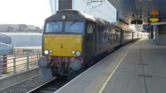 57604 'Pendennis Castle', Reading (looper23) Tags: class 57 gwr sleeper rail train september 2019 reading railway 57602 57604