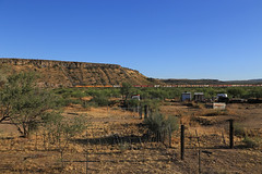 Lordsburg Bound (GLC 392) Tags: 4012 4006 4013 4005 azer arizona eastern railroad mountains mesa bluff railway train ge b408 az brush blue sky san carlos peridot fence
