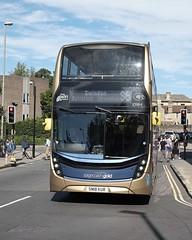 Stagecoach Cheltenham & Gloucester ADL Enviro 400MMC 10984 SN18KUR in Oxford (Mark Bowerbank) Tags: stagecoach cheltenham gloucester adl enviro 400mmc 10984 sn18kur oxford