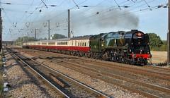 Braunton (paul_braybrook) Tags: 34046 braunton westcountryclass southernrailway pacific steamlocomotive copmanthorpe york northyorkshire charter railtour railway eastcoastmainline trains