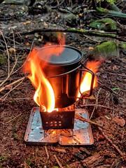 Forest coffee (Thorius) Tags: fireboxnano titanium bushcraft forest coffee hobostove ultralight toaks