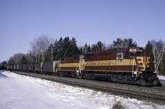 Not as Good (ac1756) Tags: wisconsincentral wcl wc emd sd45 7511 otiac kinross michigan