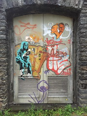 Nute (August 2019) (svennevenn) Tags: pasteups gatekunst streetart bergen nute viceroynute