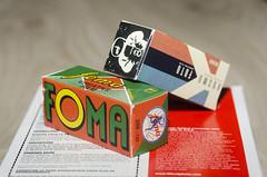 Foma and Kosmo in 120 (Arne Kuilman) Tags: amsterdam nikon 60mm foma kosmo 120 mediumformat film packaging ilford microphen limitededition