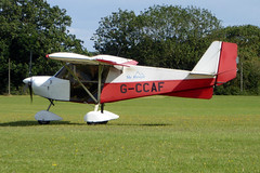 G-CCAF Skyranger 912(1) cn BMAA/HB/235 Sywell 01Sep19 (kerrydavidtaylor) Tags: orm egbk sywellaerodrome northamptonshire bestoff