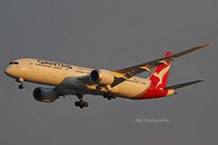 Qantas 787-9 VH-ZNA 14-09-2019 Brisbane Airport (Annette_747) Tags: canon photography airport qantas b787 plane aviat