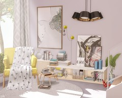 🎨 Colorpop (sushiforbreakfastResident) Tags: sl secondlife second life home homedecor decor interior interiordesign contemporary deco merak applefall apple fall fancydecor fancy