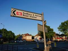 Photo of Sudbury & Harrow Road Station Sign