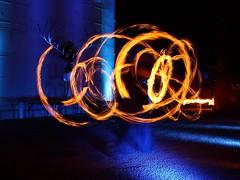 Light Painting (Céline@LaRochelle) Tags: fire light painting night