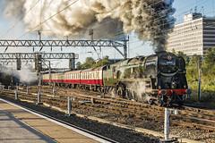 Mainline_2019_09_14_012 (Phil_the_photter) Tags: steam steamengine steamloco steamrailway theyorkshireman saphostrains crewe 34046 braunton bulleidlightpacific bulleid westcountry