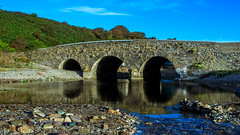 Ballyvoyle Bridge 1824 (Ifan Cymry) Tags: ballyvoyle bridge dalligan dungarvan knockyoolahaneast landscape outdoor reflection arch boulder gravel ireland river trees waterford