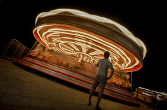 When will it be my go (Trigger1980) Tags: brighton beach nikon nikond7000 nite night sky sea sussex d7000 digital dark fun palace pier merry go round waiting 2019 west east eastsussex england exposure colour colours colourful motion blurred lights photo photography photographer photographers art land park street exhibition long